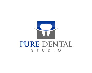 Pure Dental Studio logo design