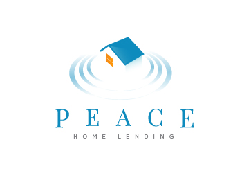 Peace Home Lending logo design