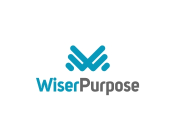 Wiser Purpose logo design