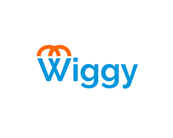 Wiggy logo design