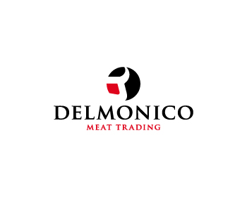 Logo design for Delmonico Meat Trading