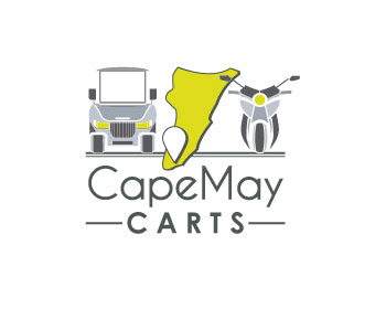 Cape May Carts logo design