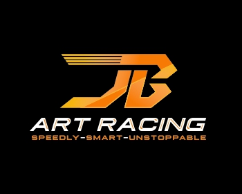 JB-ArtRacing logo design