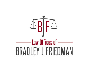 Logo design for Law Offices of Bradley J Friedman