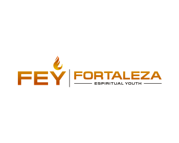 FORTALEZA ESPIRITUAL YOUTH logo design