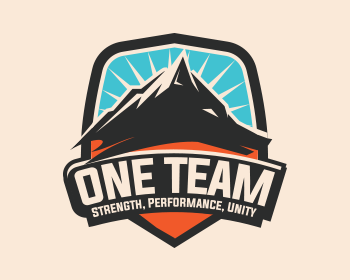 ONE Team logo design