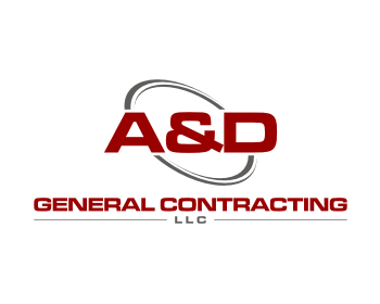 A&D General Contracting LLC logo design