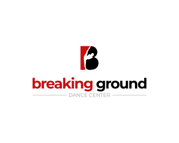 Logo breaking ground dance center