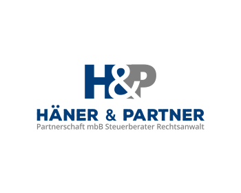 Legal logo design for Häner & Partner