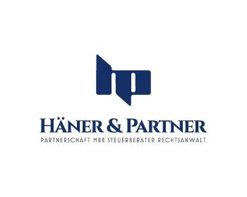 Häner & Partner logo design