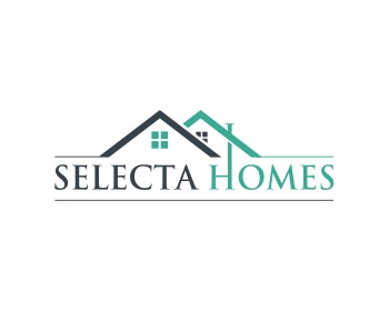 Selecta Homes logo design