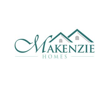 Makenzie Homes logo design