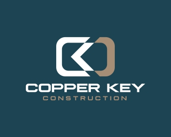 Copper Key Construction logo design