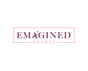 Emagined Events logo design