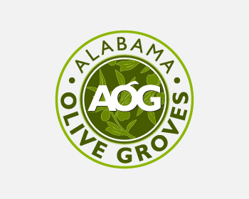 Logo design for Alabama Olive Groves