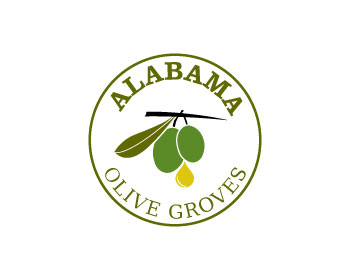 Alabama Olive Groves logo design