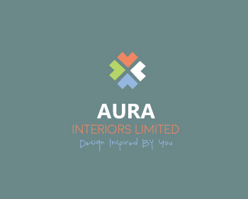 AURA INTERIORS LIMITED logo design
