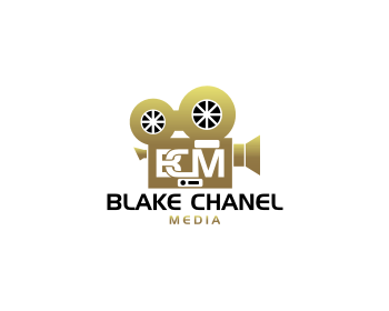 Blake Chanel Media logo design