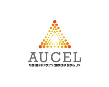 Logo design for Aberdeen University Centre for Energy Law (AUCEL)