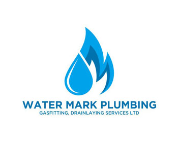 Water Mark Plumbing Services Ltd. logo design