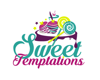 Logo design for Sweet Temptations