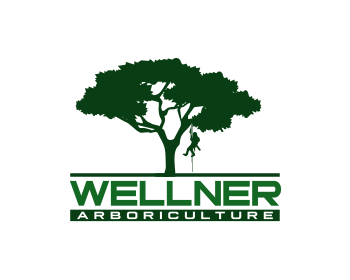 Wellner Arboriculture logo design