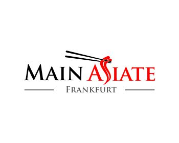 Main Asiate logo design