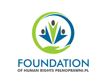Foundation of human rights Pełnoprawni.pl logo design
