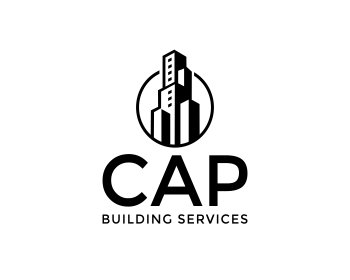 CAP Building Services logo design