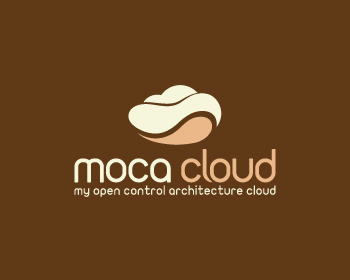 moca cloud logo design