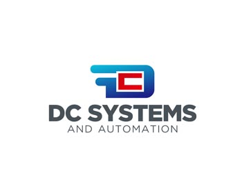 DC Systems and Automation logo design