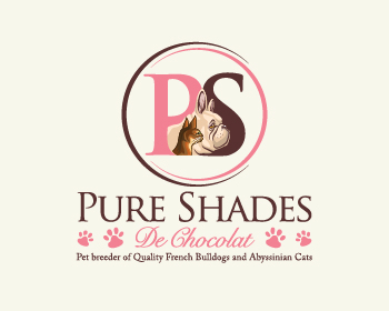 Pure Shades De Chocolat logo design