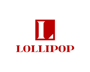 LOLLIPOP logo design
