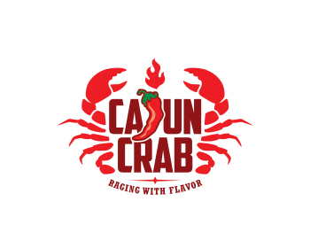 Cajun Crab logo design
