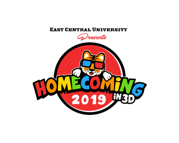 East Central University logo design