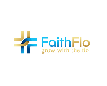 FaithFlo logo design