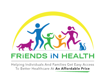 Friends In Health logo design