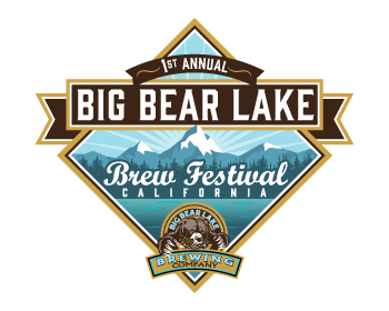 Big Bear Lake Brew Festival logo design