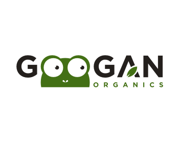 GOOGAN ORGANICS logo design