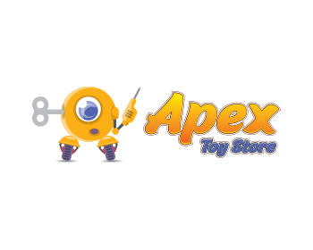 Apex Toy Store logo design