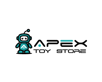 Retail logo design for Apex Toy Store
