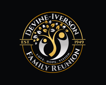 Logo design for Devine-Iverson Family Reunion