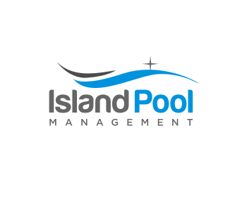 Island Pool Management logo design