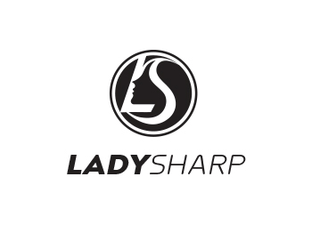 Logo design for Lady Sharp