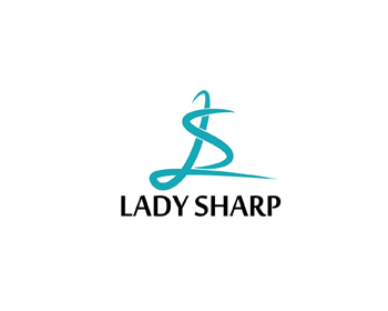 Lady Sharp logo design