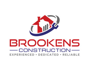 Brookens Construction logo design