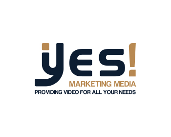 Yes! Marketing Media logo design