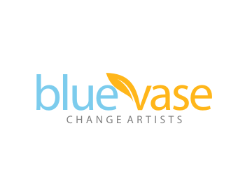 Blue Vase logo design