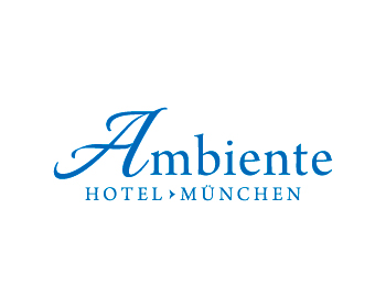 Logo design for Hotel Ambiente München