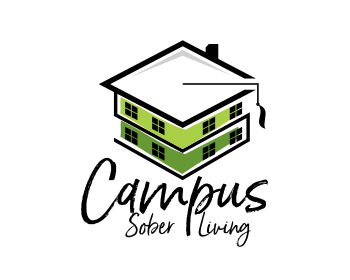 Logo design for Campus Sober Living